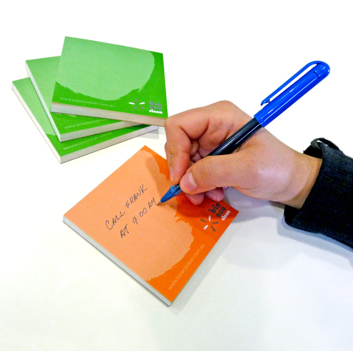 Bio Eco Clean - Note Pad