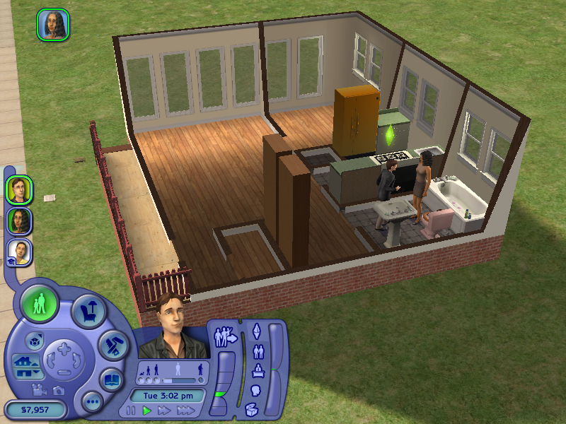 The Sims - Used via Creative Commons permission by spaceninja