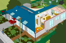 Living Sustainably: an interactive neighbourhood supporting greener lifestyles