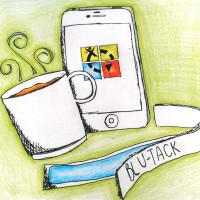 Blu-Tack, coffee and geocaching