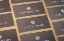 Shift to Nature: an ethical, organic brand identity and website