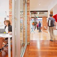 Take a peek at our new co-working habitat!